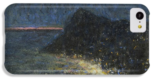 Ant iPhone 5c Case - Night Motif From Capri by Ants Laikmaa
