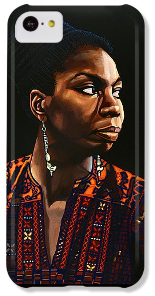 Nina Simone Painting IPhone 5c Case