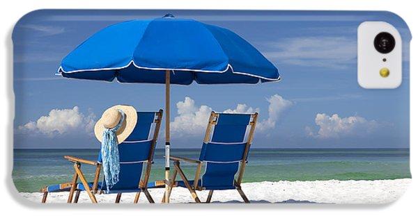 Beach iPhone 5c Case - No Worries by Janet Fikar