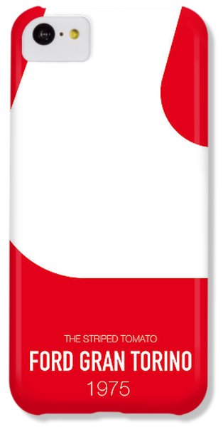 Austin iPhone 5c Case - No003 My Starsky And Hutch Minimal Movie Car Poster by Chungkong Art