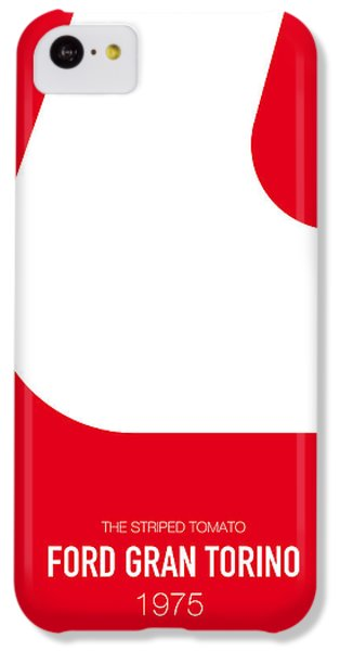 Knight iPhone 5c Case - No003 My Starsky And Hutch Minimal Movie Car Poster by Chungkong Art