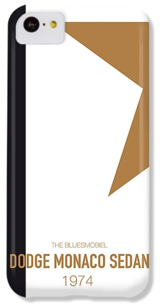 Duke iPhone 5c Case - No004 My Blues Brothers Minimal Movie Car Poster by Chungkong Art