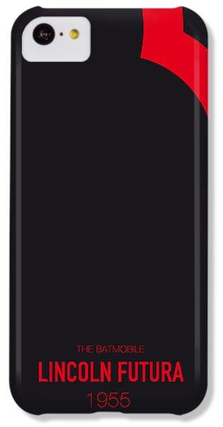 No006 My Batmobile Minimal Movie Car Poster IPhone 5c Case by Chungkong Art