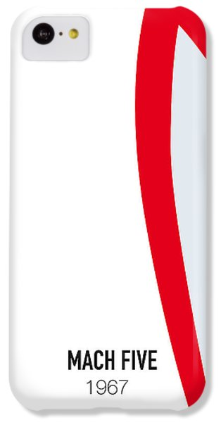 Duke iPhone 5c Case - No008 My Speed Racer Minimal Movie Car Poster by Chungkong Art