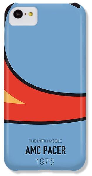 Duke iPhone 5c Case - No010 My Waynes World Minimal Movie Car Poster by Chungkong Art