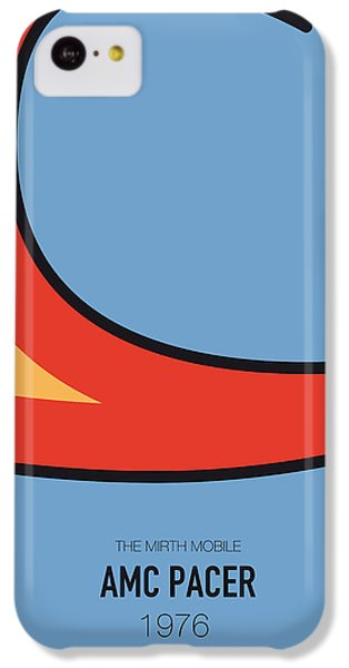 Knight iPhone 5c Case - No010 My Waynes World Minimal Movie Car Poster by Chungkong Art