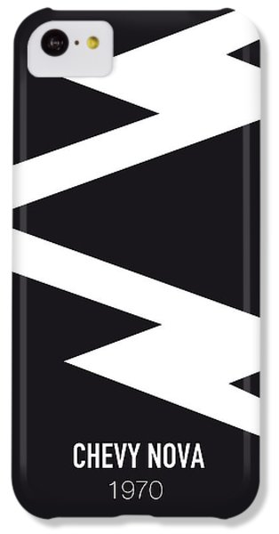 Duke iPhone 5c Case - No012 My Death Proof Minimal Movie Car Poster by Chungkong Art