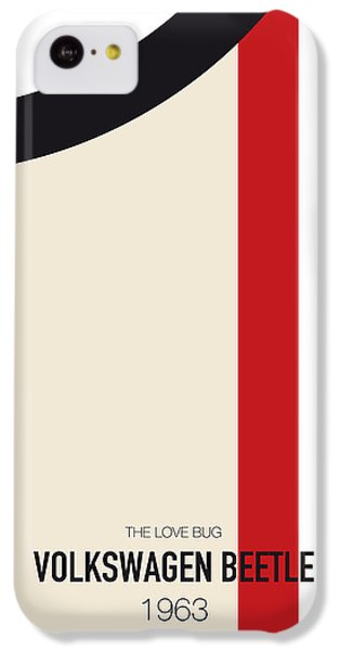 Knight iPhone 5c Case - No014 My Herbie Minimal Movie Car Poster by Chungkong Art