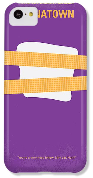 Jack Nicholson iPhone 5c Case - No015 My Chinatown Minimal Movie Poster by Chungkong Art