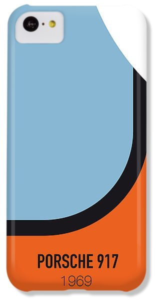 No016 My Le Mans Minimal Movie Car Poster IPhone 5c Case by Chungkong Art