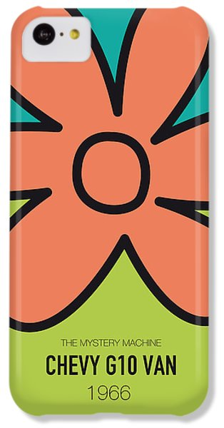 Austin iPhone 5c Case - No020 My Scooby Doo Minimal Movie Car Poster by Chungkong Art