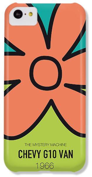 No020 My Scooby Doo Minimal Movie Car Poster IPhone 5c Case by Chungkong Art