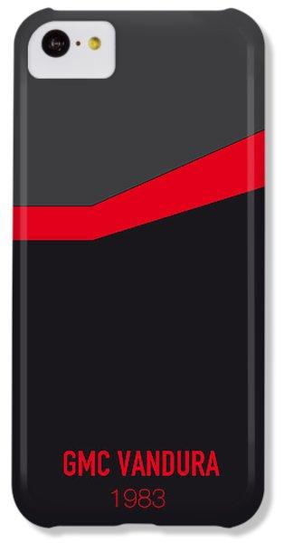 Duke iPhone 5c Case - No023 My Ateam Minimal Movie Car Poster by Chungkong Art