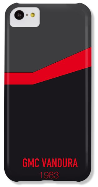 Knight iPhone 5c Case - No023 My Ateam Minimal Movie Car Poster by Chungkong Art