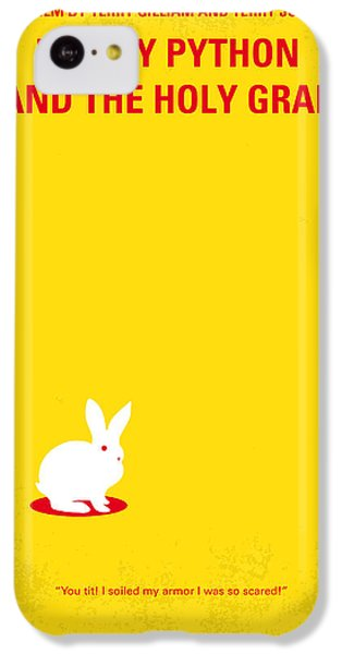 No036 My Monty Python And The Holy Grail Minimal Movie Poster IPhone 5c Case