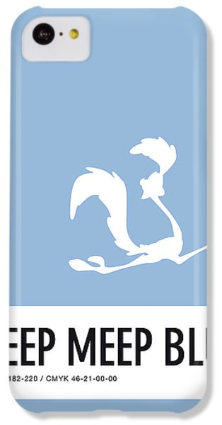 Mice iPhone 5c Case - No05 My Minimal Color Code Poster Road Runner by Chungkong Art