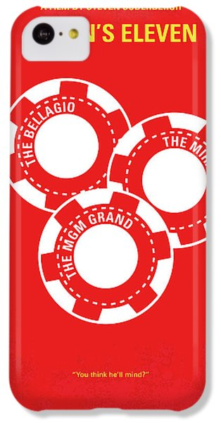 No056 My Oceans 11 Minimal Movie Poster IPhone 5c Case