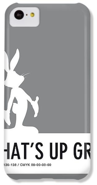Mice iPhone 5c Case - No06 My Minimal Color Code Poster Bugs by Chungkong Art