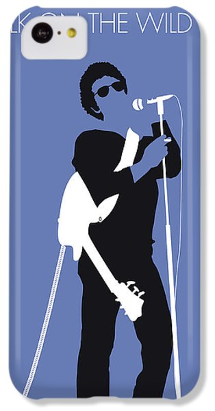 London Tube iPhone 5c Case - No068 My Lou Reed Minimal Music Poster by Chungkong Art