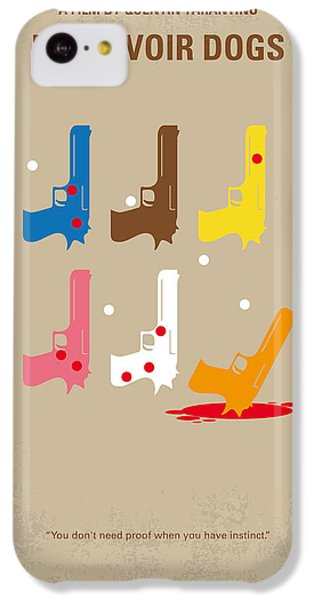 No069 My Reservoir Dogs Minimal Movie Poster IPhone 5c Case