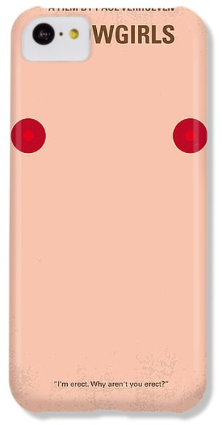 Cheetah iPhone 5c Case - No076 My Showgirls Minimal Movie Poster by Chungkong Art