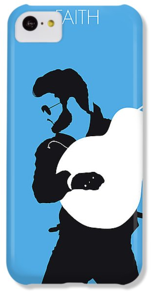 Rhythm And Blues iPhone 5c Case - No089 My George Michael Minimal Music Poster by Chungkong Art
