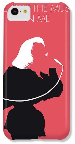 Elton John iPhone 5c Case - No092 My Kiki Dee Minimal Music Poster by Chungkong Art