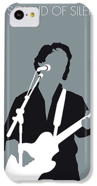 Sound iPhone 5c Case - No097 My Paul Simon Minimal Music Poster by Chungkong Art