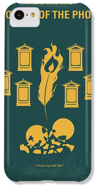 No101-5 My Hp - Order Of The Phoenix Minimal Movie Poster IPhone 5c Case