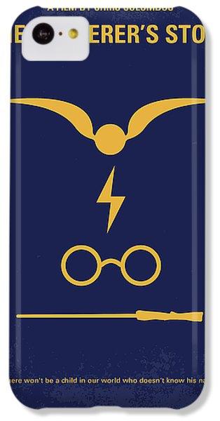 No101 My Harry Potter Minimal Movie Poster IPhone 5c Case by Chungkong Art