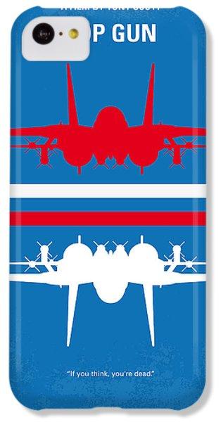 No128 My Top Gun Minimal Movie Poster IPhone 5c Case