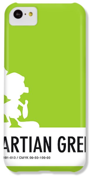 Woodpecker iPhone 5c Case - No15 My Minimal Color Code Poster Marvin by Chungkong Art