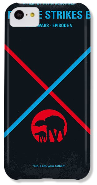 Knight iPhone 5c Case - No155 My Star Wars Episode V The Empire Strikes Back Minimal Movie Poster by Chungkong Art