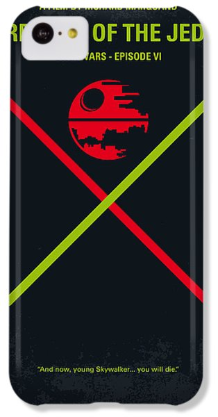 No156 My Star Wars Episode Vi Return Of The Jedi Minimal Movie Poster IPhone 5c Case