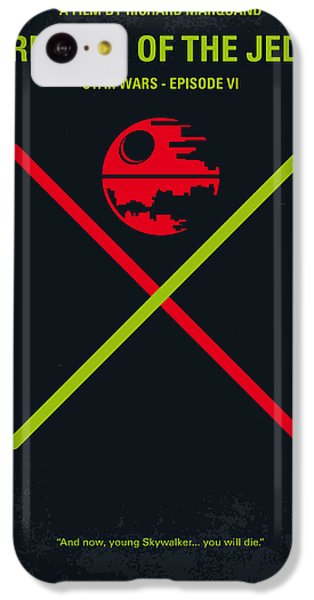 Knight iPhone 5c Case - No156 My Star Wars Episode Vi Return Of The Jedi Minimal Movie Poster by Chungkong Art