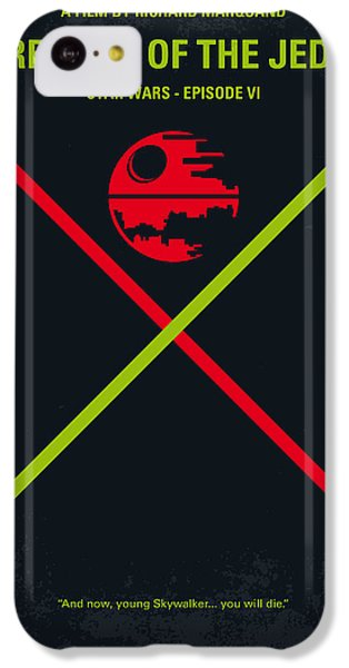 No156 My Star Wars Episode Vi Return Of The Jedi Minimal Movie Poster IPhone 5c Case by Chungkong Art