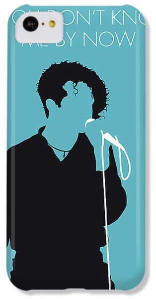 Rhythm And Blues iPhone 5c Case - No165 My Simply Red Minimal Music Poster by Chungkong Art