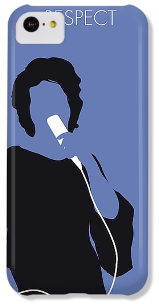 Rhythm And Blues iPhone 5c Case - No188 My Aretha Franklin Minimal Music Poster by Chungkong Art