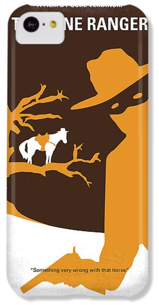 No202 My The Lone Ranger Minimal Movie Poster IPhone 5c Case