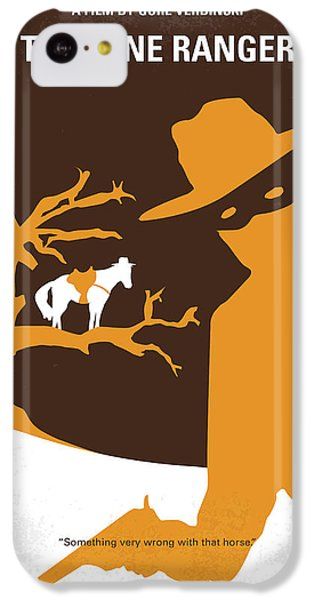 No202 My The Lone Ranger Minimal Movie Poster IPhone 5c Case by Chungkong Art