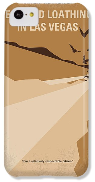 No293 My Fear And Loathing Las Vegas Minimal Movie Poster IPhone 5c Case