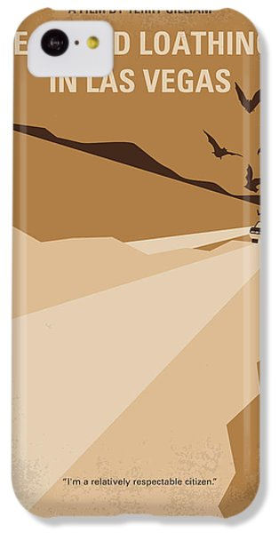 No293 My Fear And Loathing Las Vegas Minimal Movie Poster IPhone 5c Case by Chungkong Art