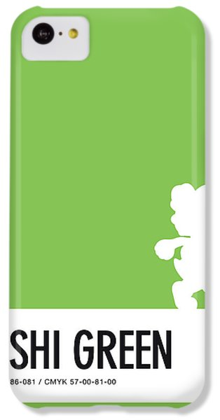 Floral iPhone 5c Case - No36 My Minimal Color Code Poster Yoshi by Chungkong Art