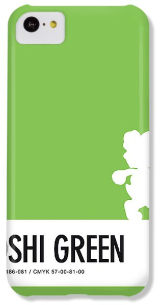 Daisy iPhone 5c Case - No36 My Minimal Color Code Poster Yoshi by Chungkong Art