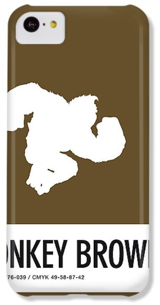 Floral iPhone 5c Case - No37 My Minimal Color Code Poster Donkey Kong by Chungkong Art
