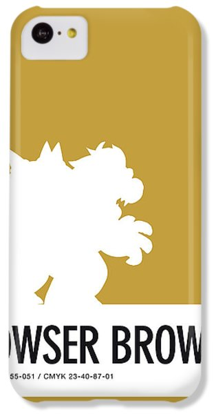 Floral iPhone 5c Case - No38 My Minimal Color Code Poster Bowser by Chungkong Art