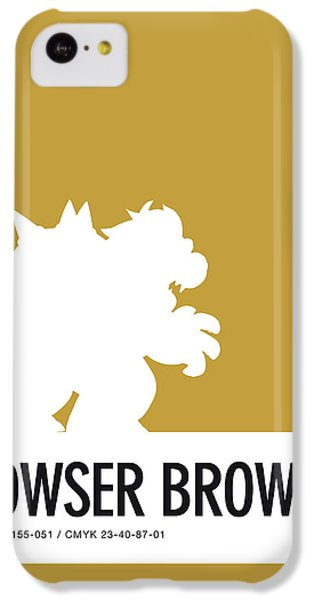 Daisy iPhone 5c Case - No38 My Minimal Color Code Poster Bowser by Chungkong Art