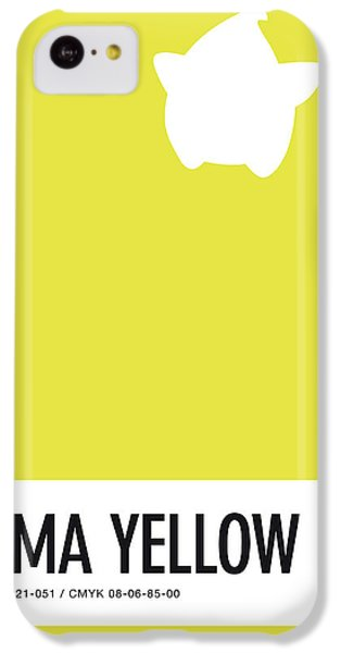 Floral iPhone 5c Case - No40 My Minimal Color Code Poster Luma by Chungkong Art