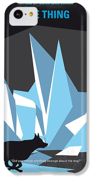 No466 My The Thing Minimal Movie Poster IPhone 5c Case by Chungkong Art