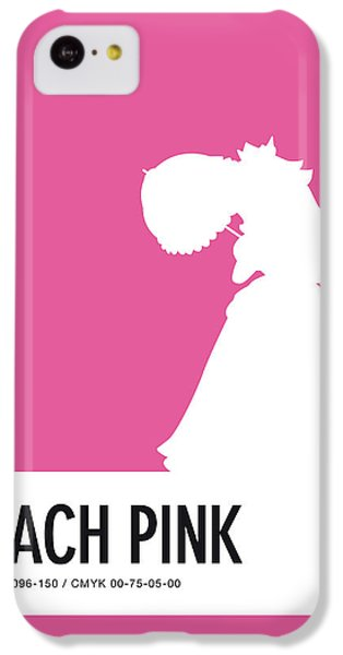 Daisy iPhone 5c Case - No44 My Minimal Color Code Poster Peach by Chungkong Art
